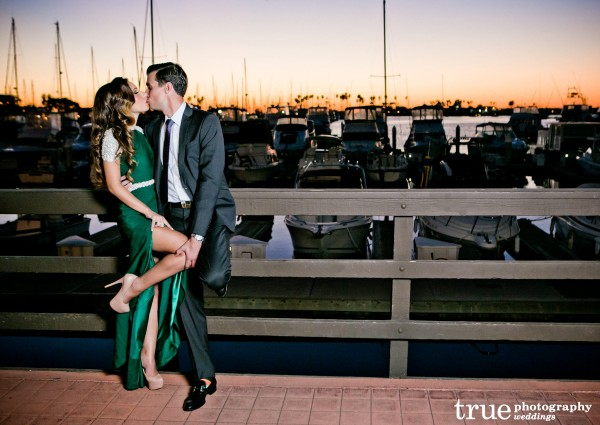 Marina Village Engagement Party in San Diego