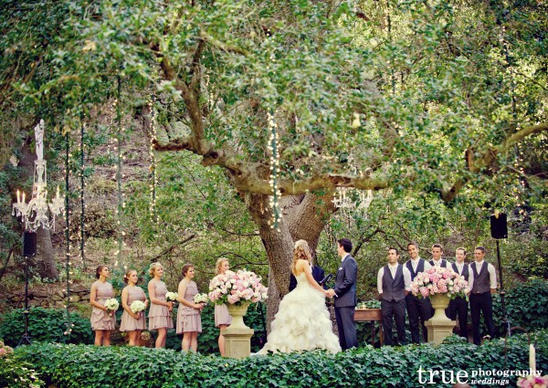 Outdoor Garden Wedding In Orange County With The