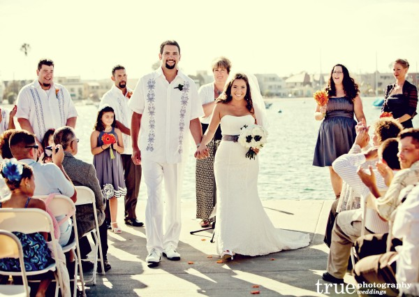 San Diego Rowing Club Wedding with I Do Weddings
