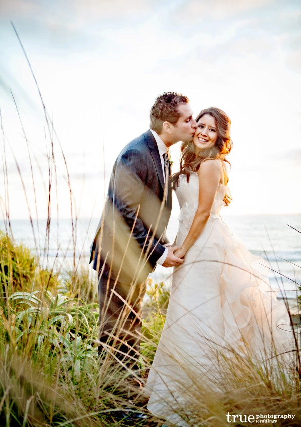 Sony and Jeffrey's Seaside Forum Wedding with Brittany Gharring Hair and Makeup