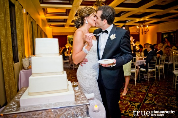 Cake-Cutting-at-Wedding-at-The-Crosby-Club