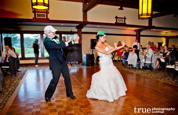 Father-Daughter-Dance-at-Lodge-at-Torrey-Pines-Wedding-with-Crown-Weddings