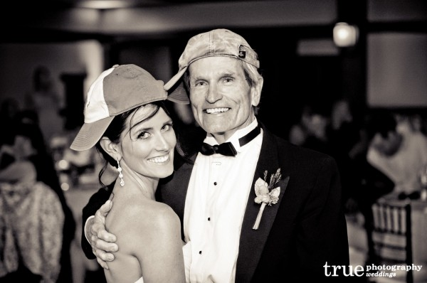Father-daughter-during-wedding-at-the-Torrey-Pines-Lodge-with-Crown-Weddings