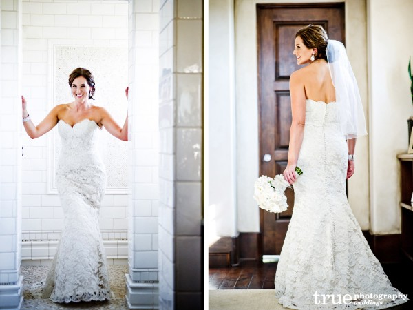 The-Crosby-club-wedding-with-bride-in-Lace-dress