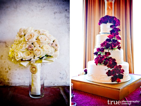Gold-Ivory-and-Burgundy-Wedding-Colors-