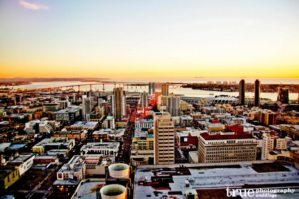 San-Diego-Skyline-View-at-Symphony-Towers-Wedding-