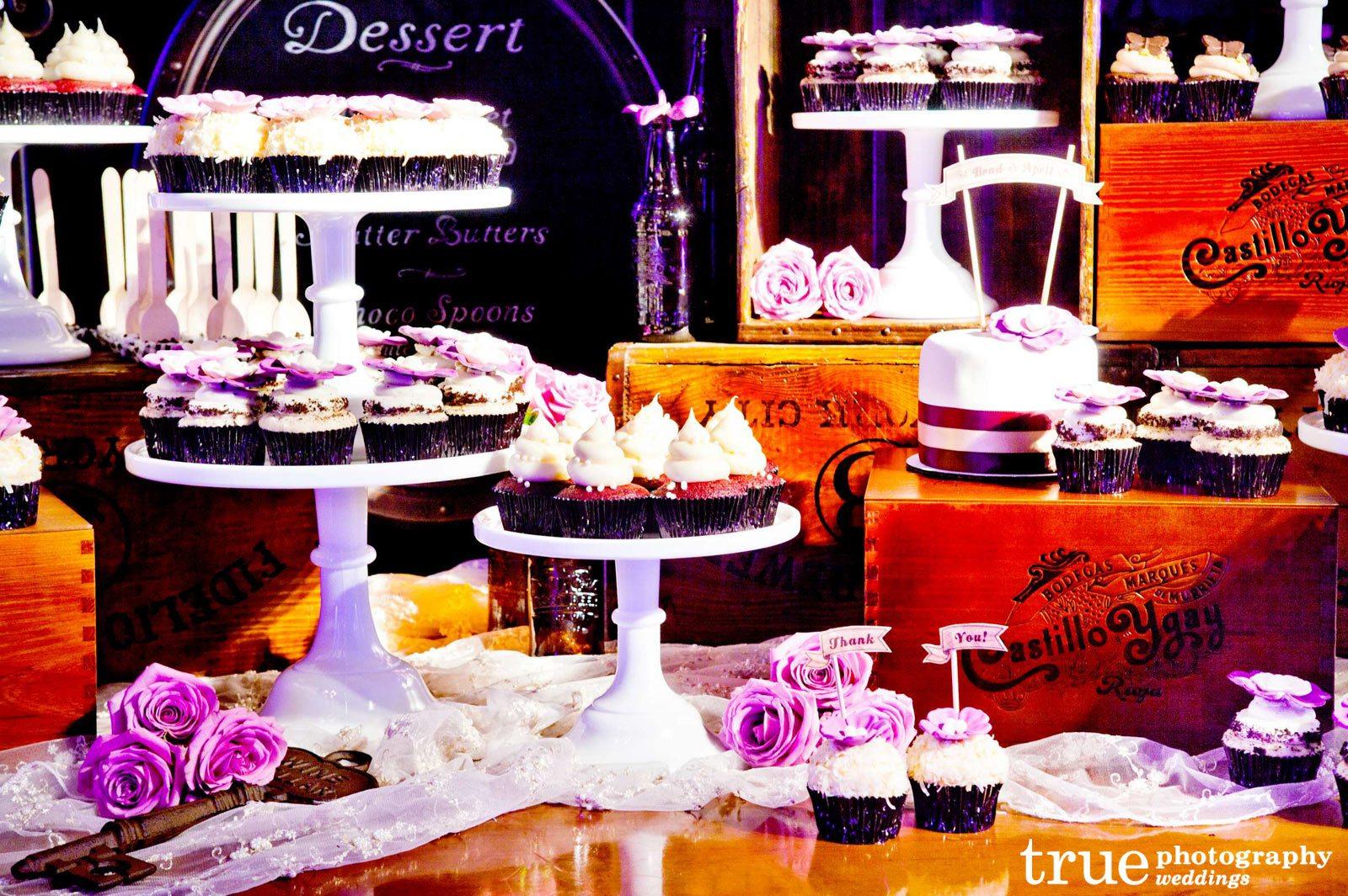 Cake Pop Display With Wine Crates