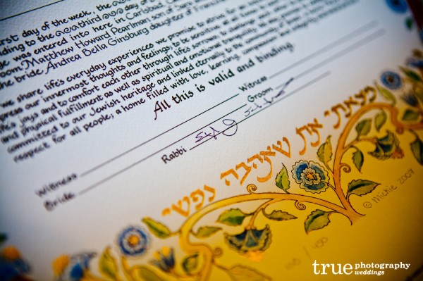 Jewish-Weddings-San-Diego-Katubah-