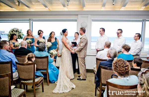 Marine Room Wedding In San Go With Ceremonies