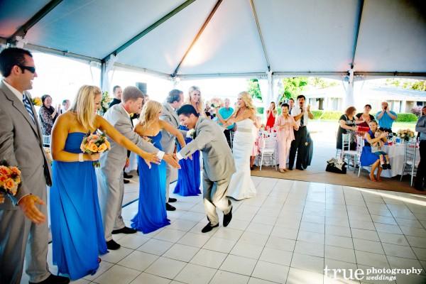 bride-groom-grand-entrance