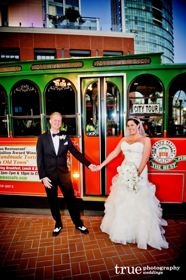 wedding-couple-trolley