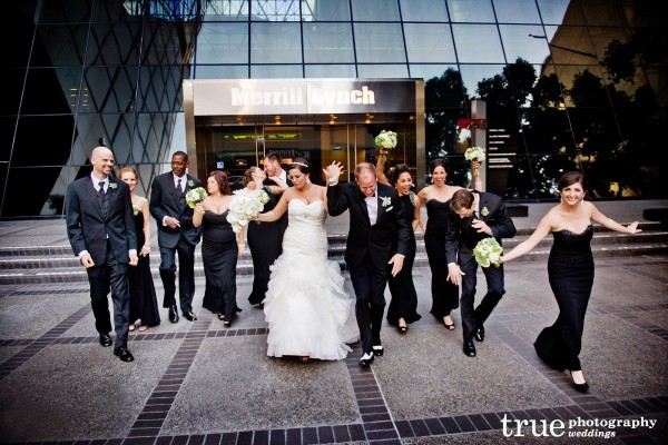 wedding-party-outside-building