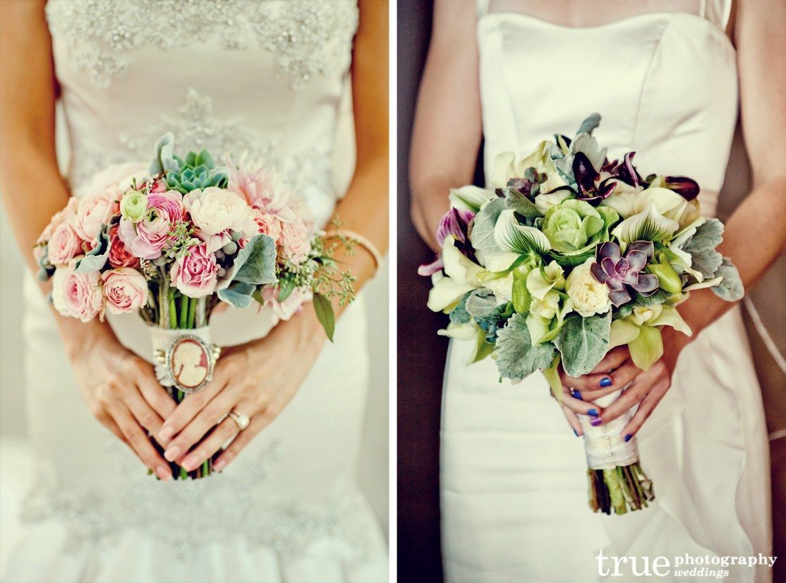04 San-Diego-Wedding-Bouquets-Succulents