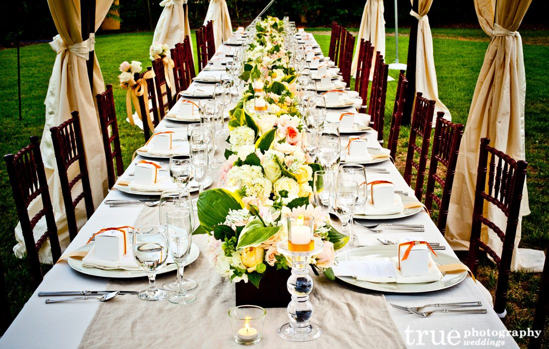 Long-banquet-table-at-wedding-reception