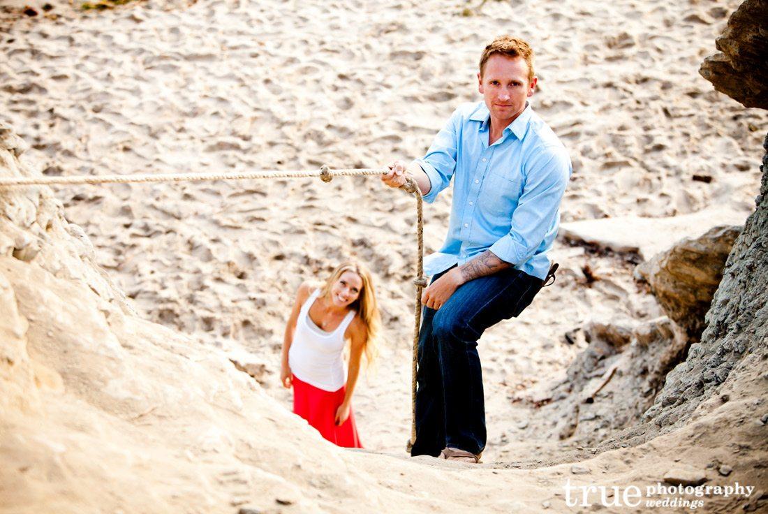 Beach-engagement-Photo-Shoot-at-Sunset-Cliffs-