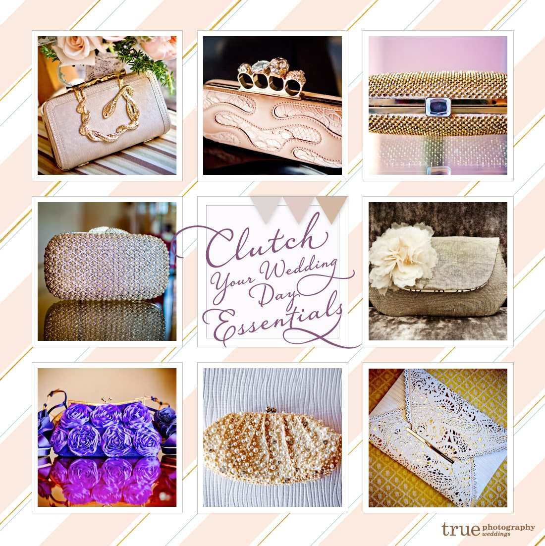 Brides Clutches and Purses