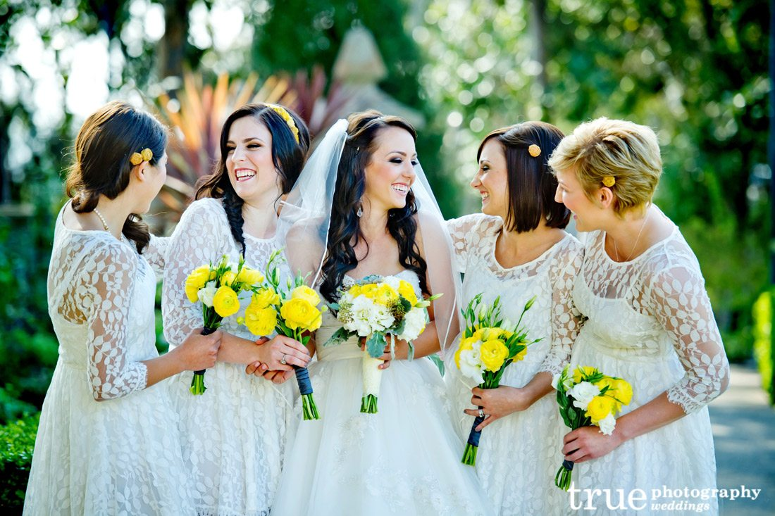 Creme-Bridesmaids-Dresses