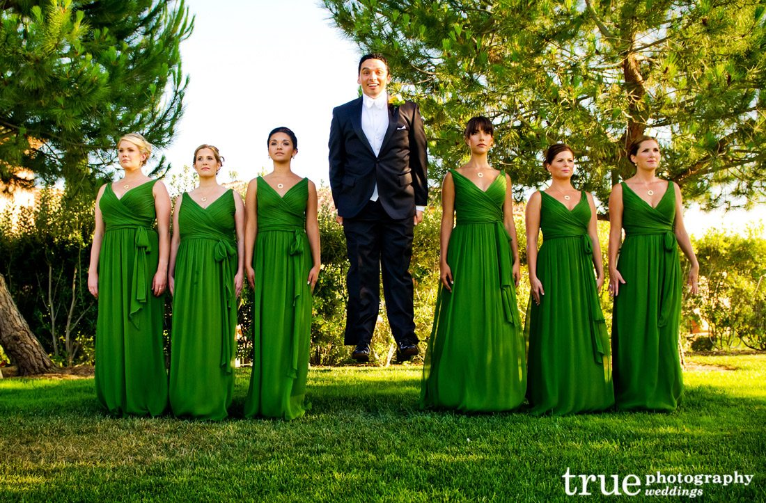 Green-bridesmaids-dresses-