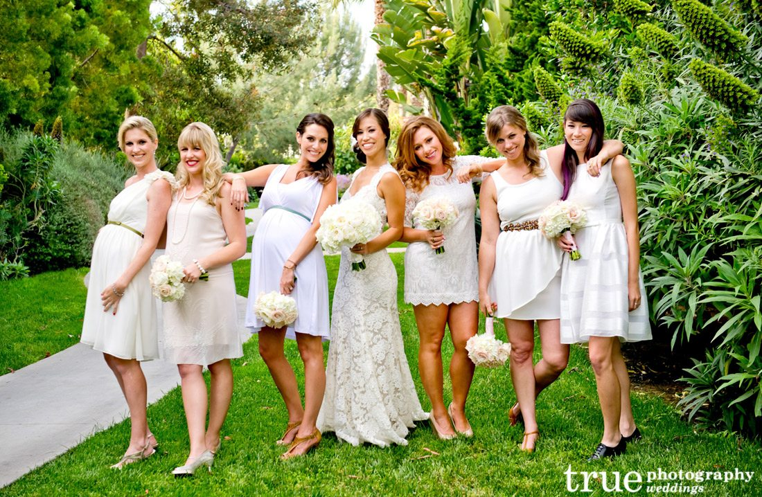 Ivory-bridesmaids-dresses