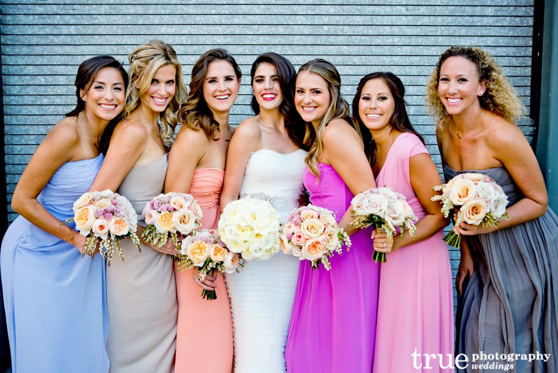 MultiColored-Bridesmaids-Dresses