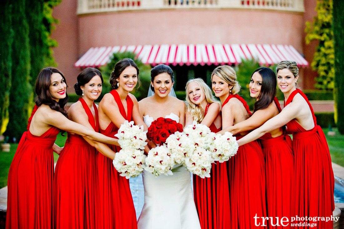 Bridesmaids dresses by color style and trend dress photos red bridesmaids dresses ombrellifo Images