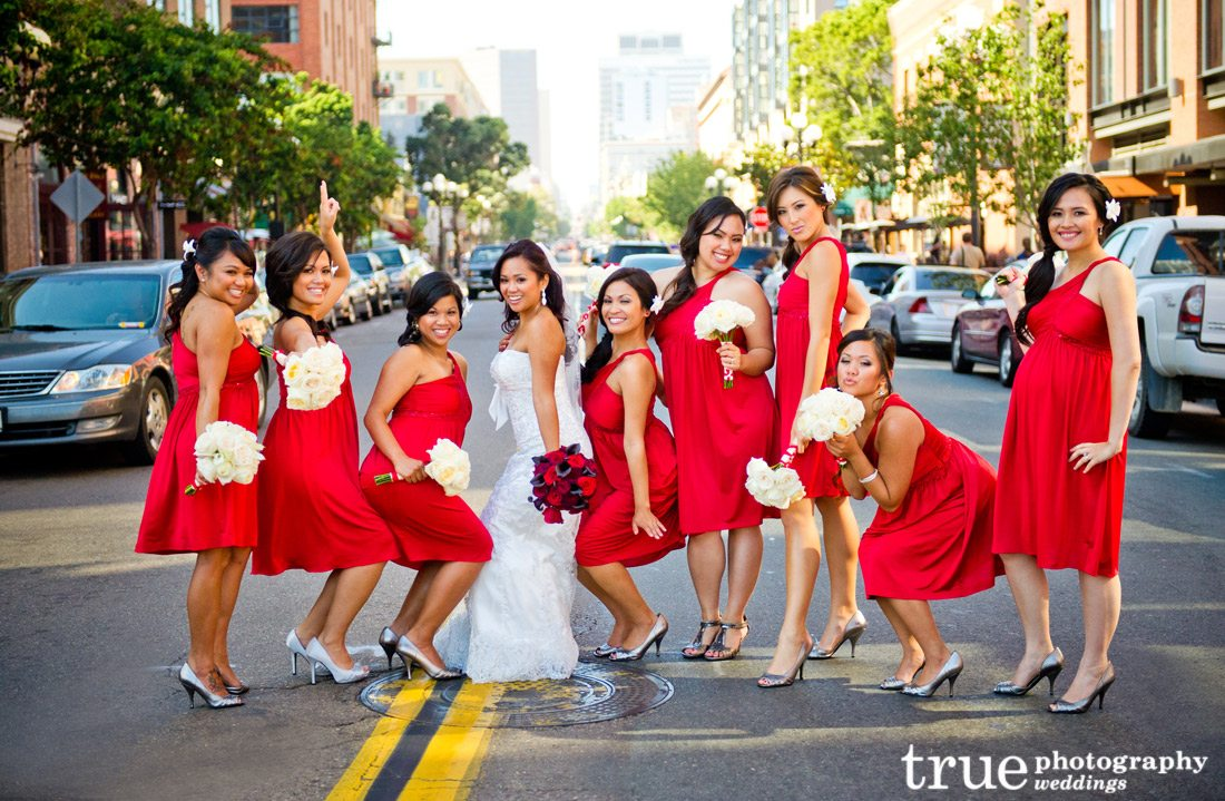 Red-Bridesmaids-Dresses