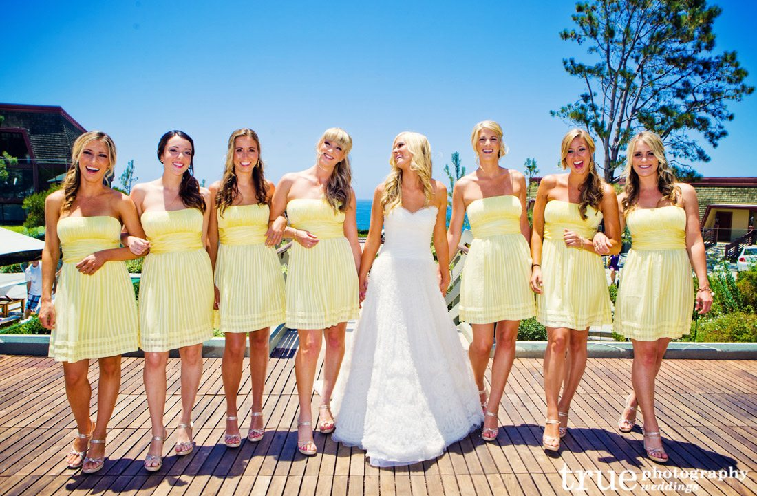Yellow-Bridesmaids-Dresses