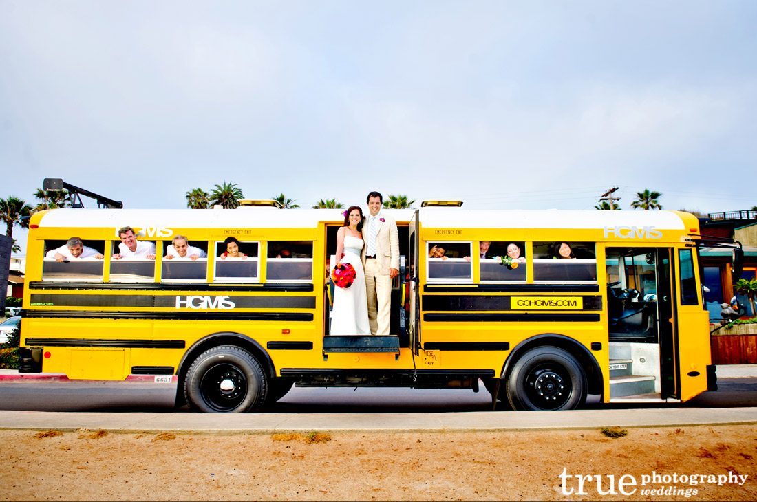 Bride-and-Groom-on-School-Bus