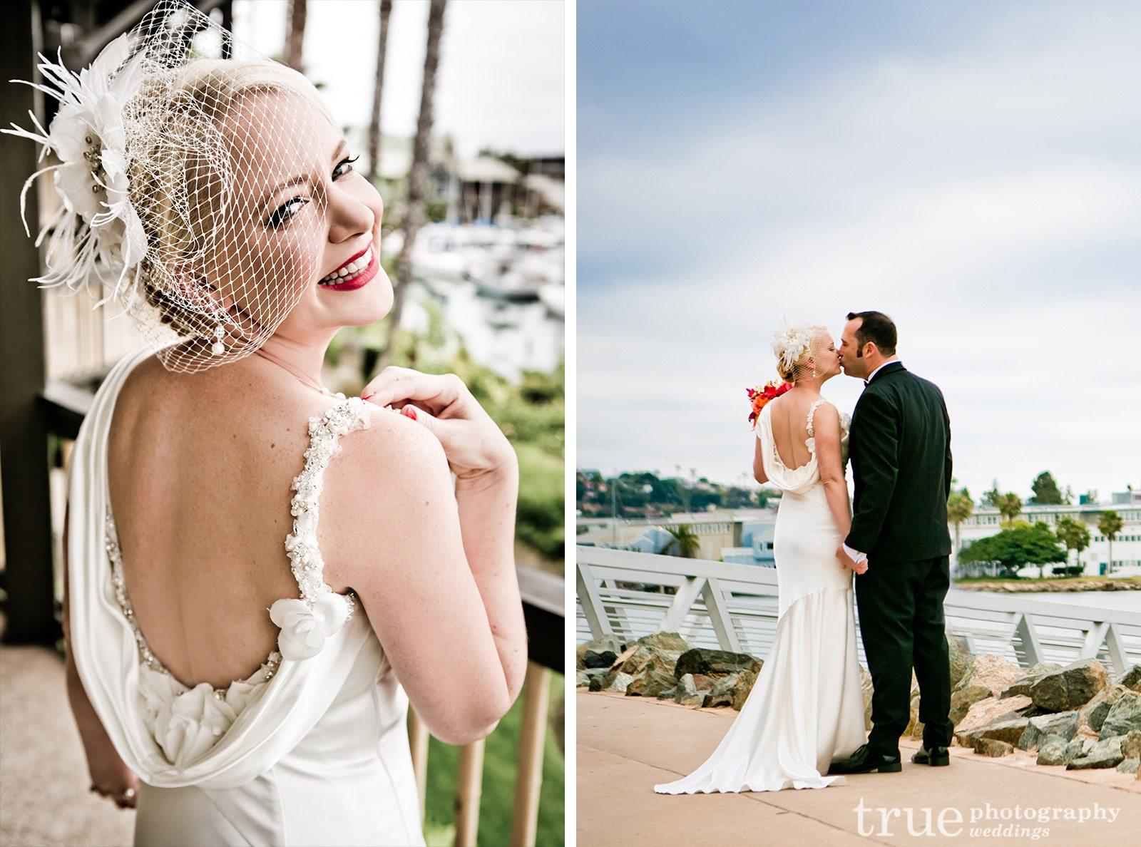 Draping-Back-Wedding-Dress
