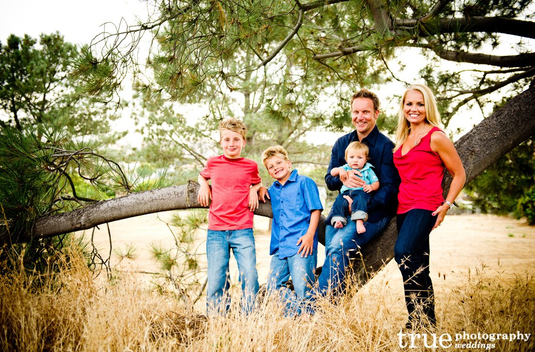 Family-photo-shoot-in-a-field