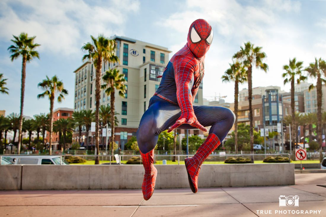 Comic-Con 2014 Best Costumes Day 1 | Spider-Man