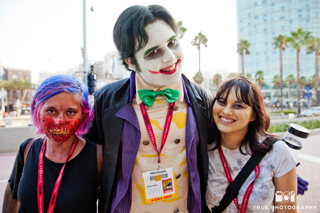 comic-con 2014 best costumes joker zombie