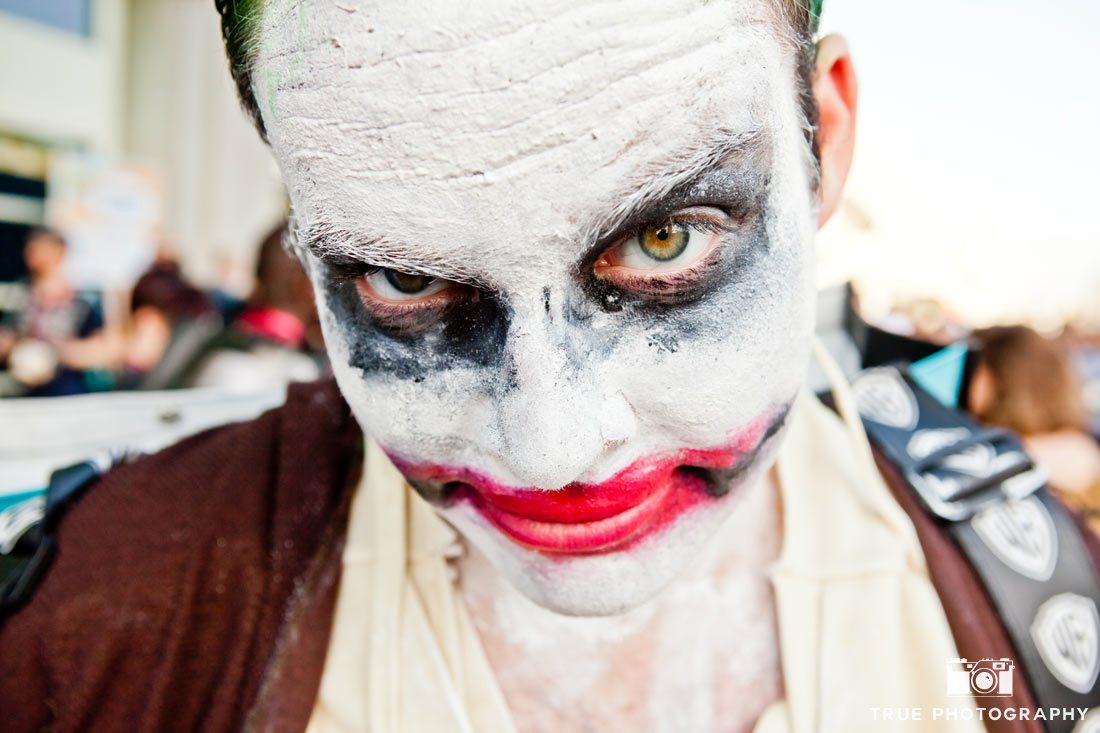 Comic-Con 2014 best costumes joker close up