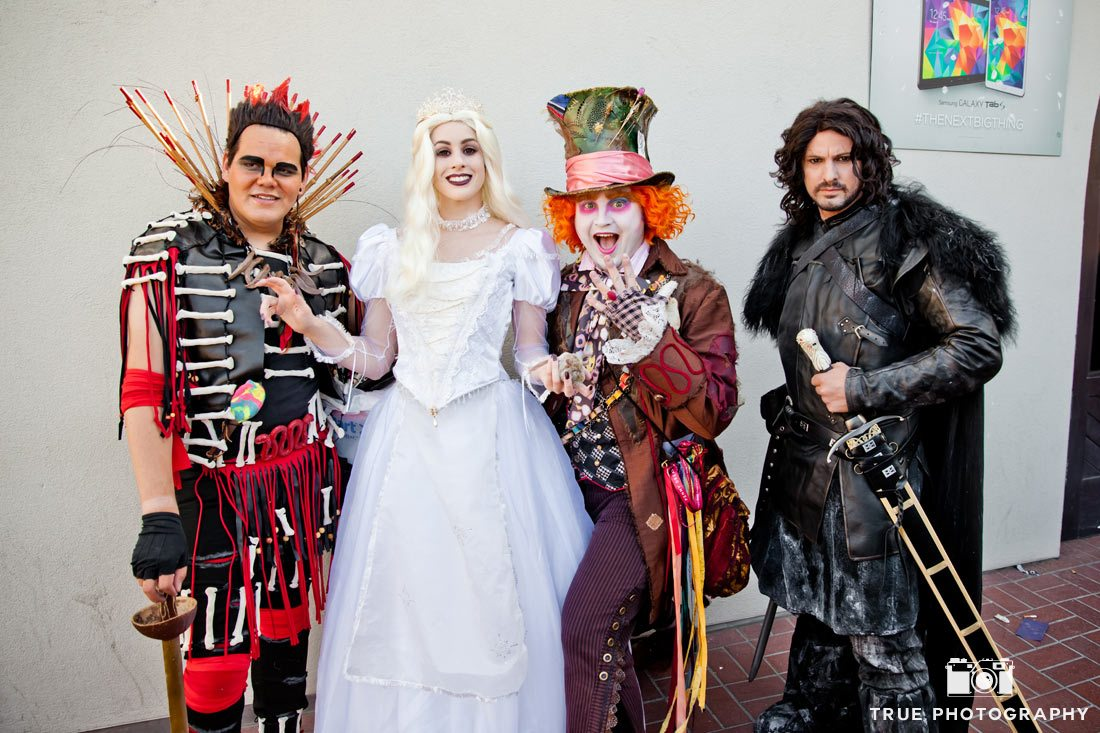 comic-con 2014 alice in wonderland meets game of thrones
