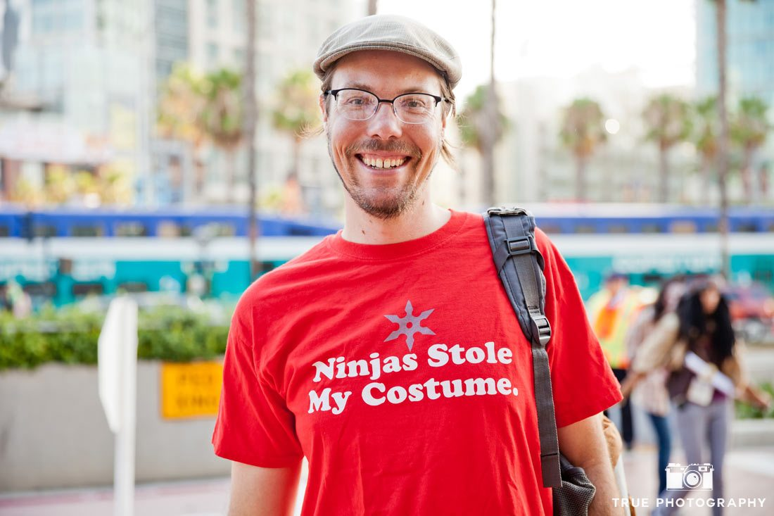 comic-con 2014 ninjas stole my costume shirt