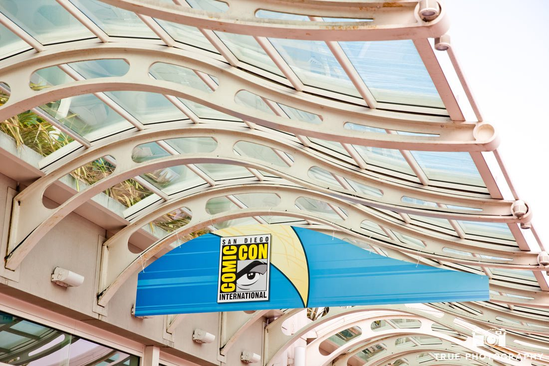 Comic-con 2014 welcome banner