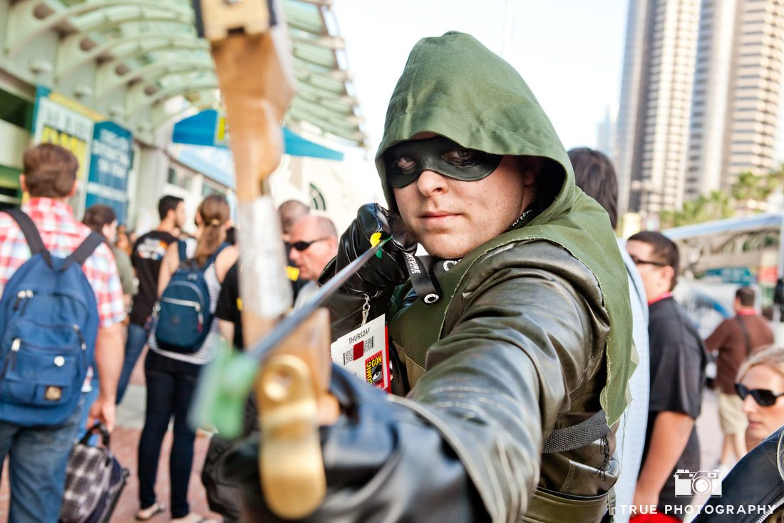 Comic-con 2014 green arrow costume