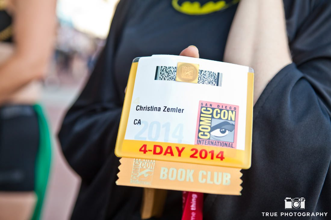 Comic-con 2014 festival pass close up