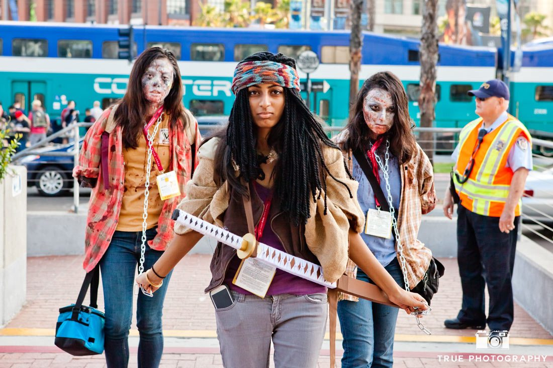 Comic-con 2014 walking dead characters