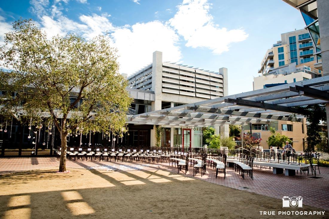 modern ceremony San Diego Central Library