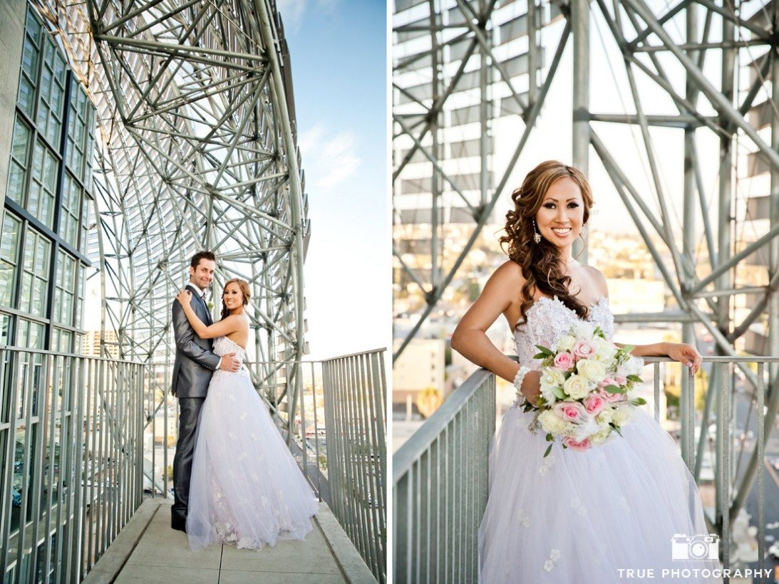 modern architecture San Diego Centra library wedding