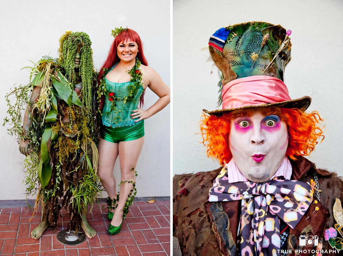 Comic-Con 2014 best costumes poison ivy mad hatter