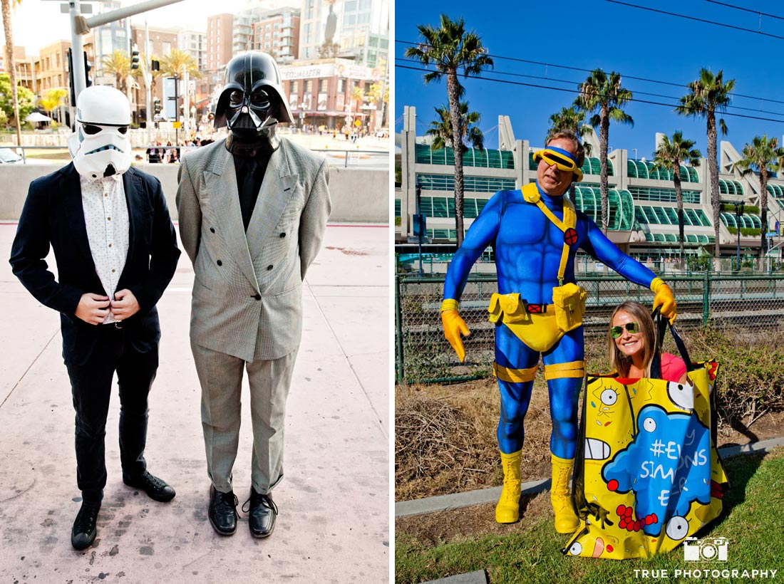 comic-con 2014 serious stormtrooper darth vader cyclops