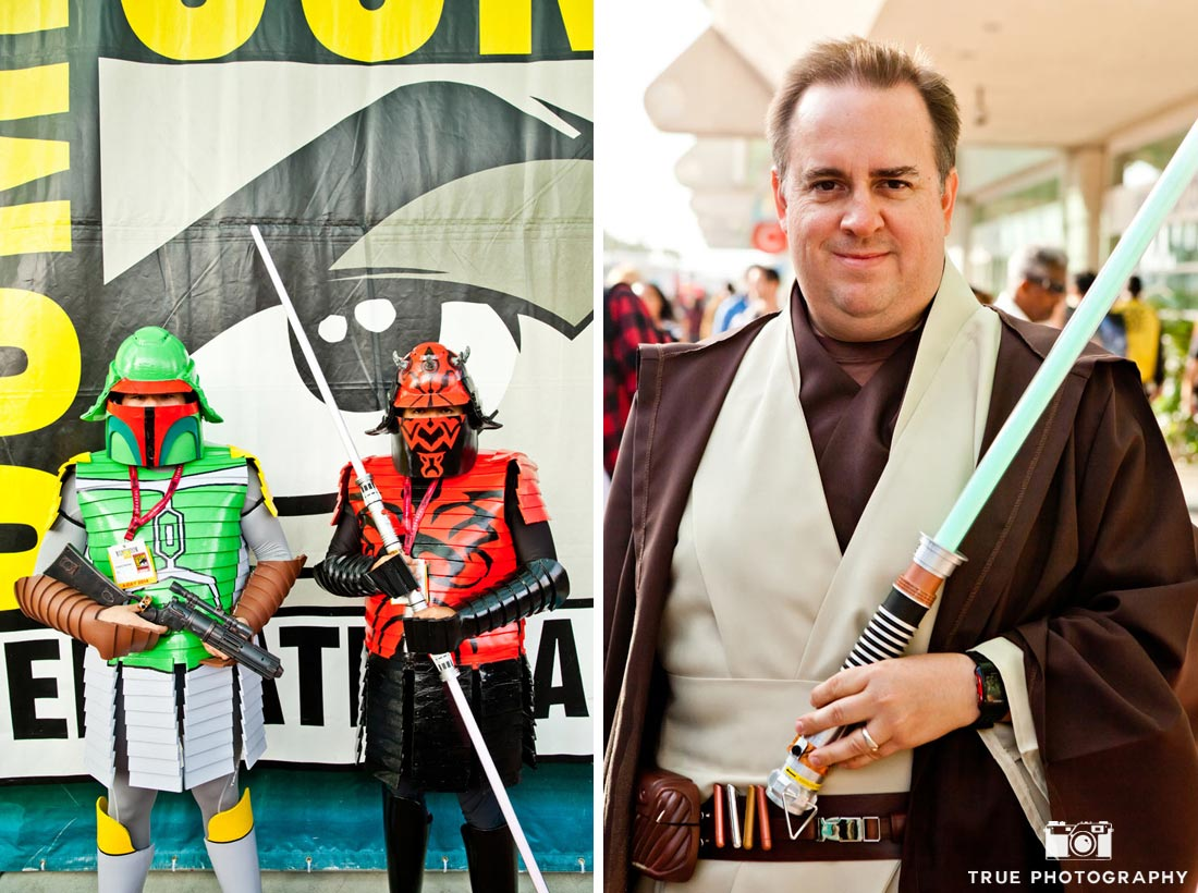 comic-con 2014 jedi star wars costumes
