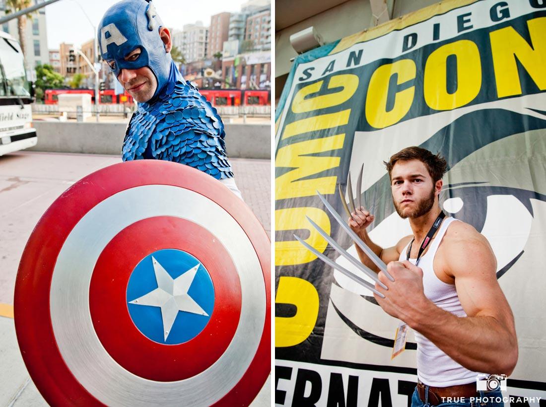 comic-con 2014 costumes captain america wolverine