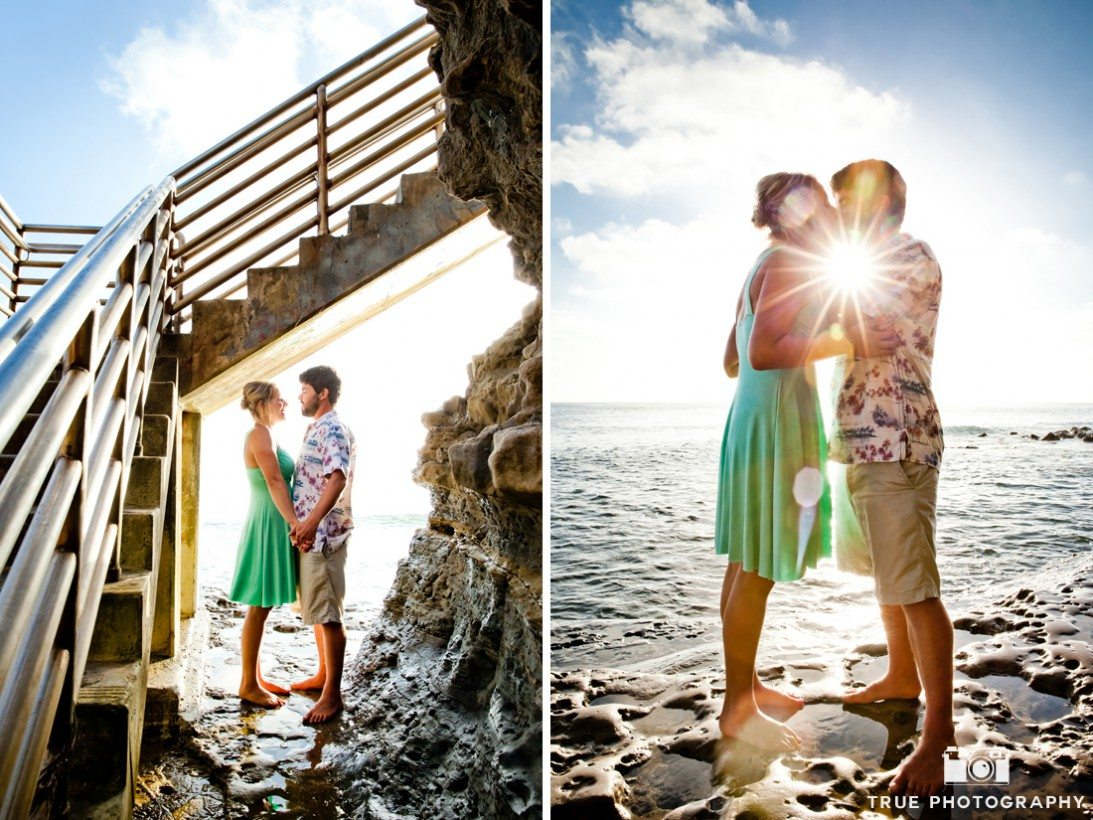Sunset Cliffs engagement shoot
