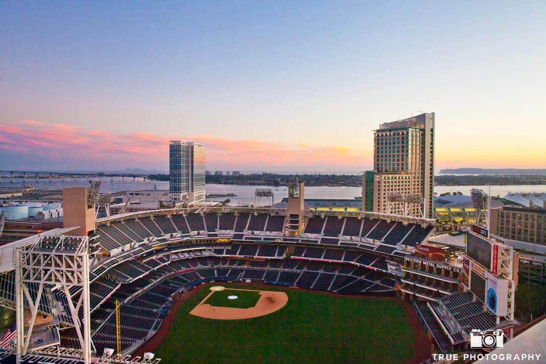 ballpark view from The Ultimate Skybox venue