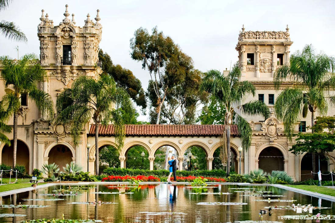 Balboa Park reflection pond