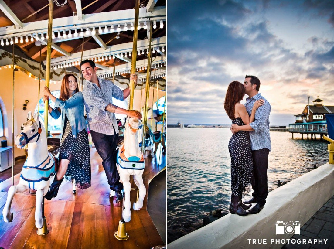 unique locations for your Seaport Village Engagement Photo Shoot