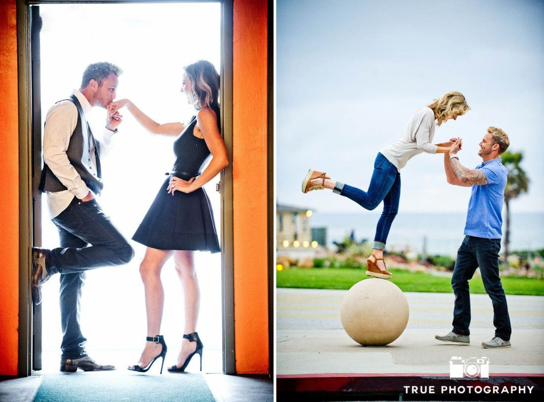 examples of how to dress for engagement shoot